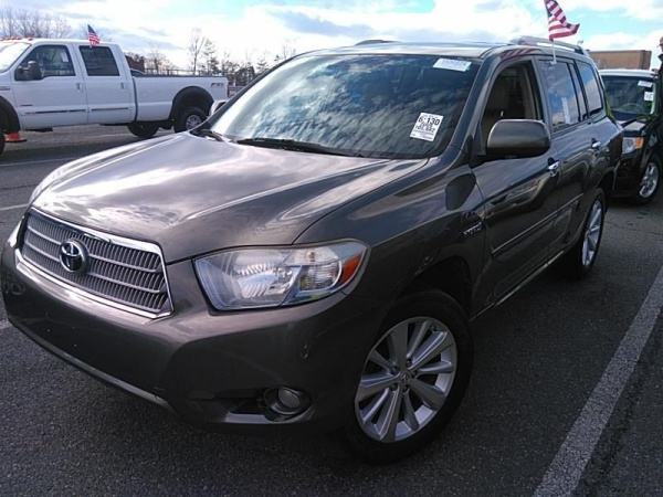 2009 Toyota Highlander Hybrid Limited With 3rd Row 4wd