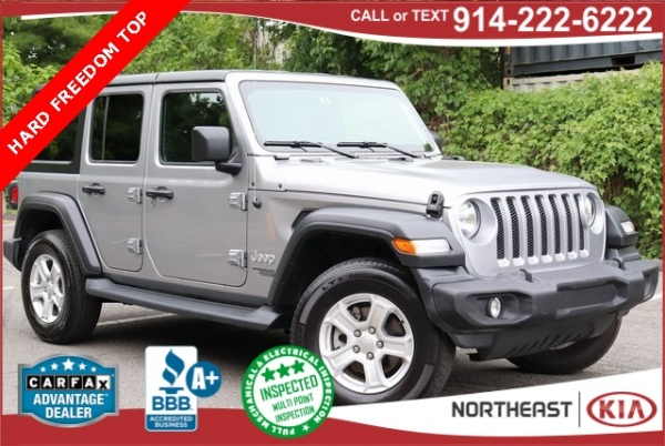 White Plains Jeep >> 2019 Jeep Wrangler Unlimited Sport S For Sale In White Plains Ny