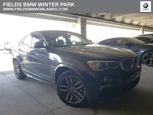 BMW Winter Park >> 2018 Bmw X4 M40i For Sale In Winter Park Fl Truecar