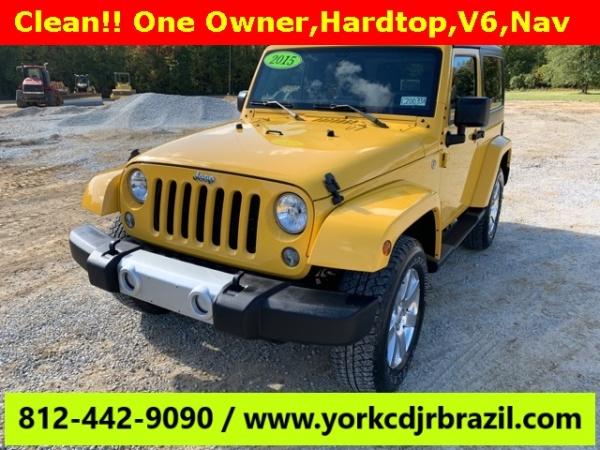 2015 Jeep Wrangler in Brazil, IN