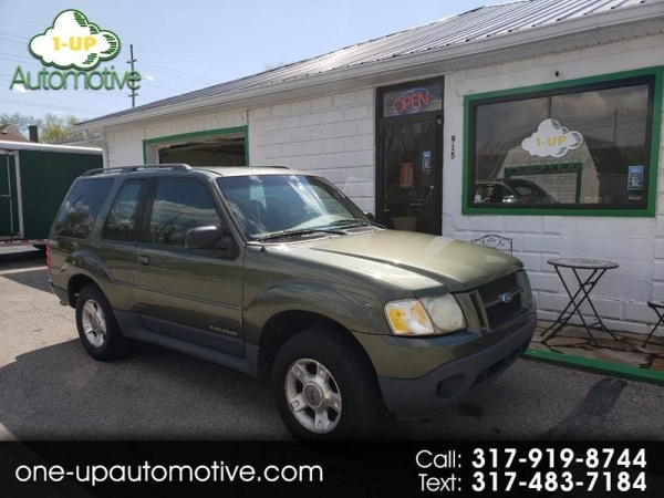 2002 Ford Explorer Value Automatic 2 Door Rwd For Sale In