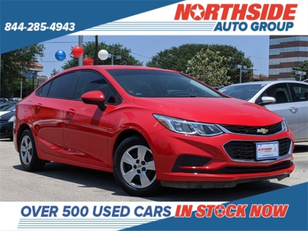 2018 Chevrolet Cruze in San Antonio, TX