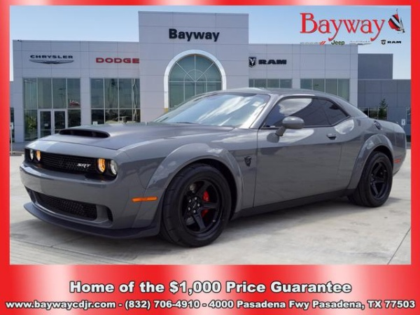 Used Dodge Challenger SRT Demon for Sale: 37 Cars from