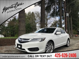 2016 Acura Ilx With Technology Plus Package For In Bothell Wa