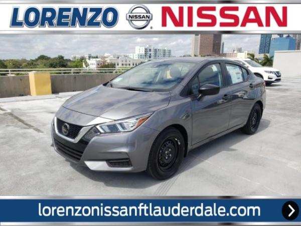 2020 Nissan Versa in Fort Lauderdale, FL