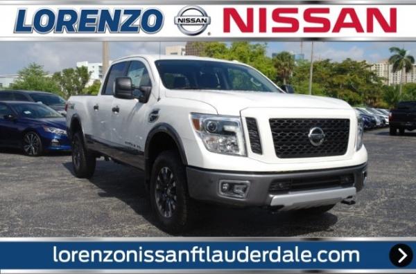 Ft Lauderdale Nissan >> 2019 Nissan Titan Xd Pro 4x Crew Cab Diesel 4wd For Sale In