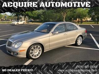 Mercedes Jacksonville Fl >> Used Mercedes Benz E Class For Sale In Jacksonville Fl Truecar