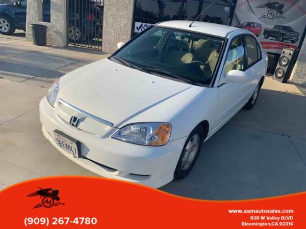 2003 Honda Civic Hybrid Sedan Cvt