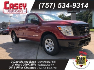 Used 2017 Nissan Titan S Single Cab 2WD For Sale In Newport News, VA