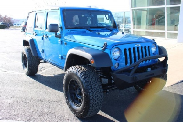 2016 Jeep Wrangler in Perrysburg, OH