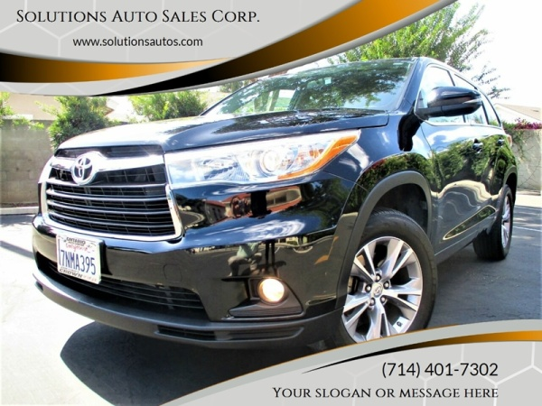 2015 Toyota Highlander in Orange, CA