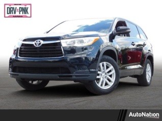 Used 2014 Toyota Highlander LE I4 FWD For Sale In Winter Park, FL
