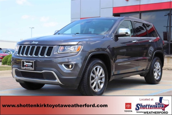 2016 Jeep Grand Cherokee in Weatherford, TX