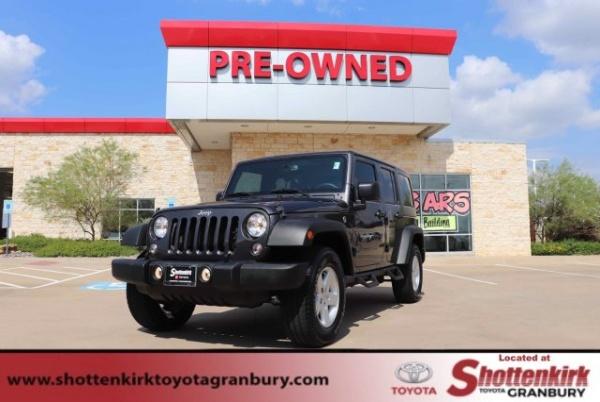 2017 Jeep Wrangler in Granbury, TX