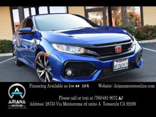 2018 Honda Civic Si Sedan Manual For In Temecula Ca