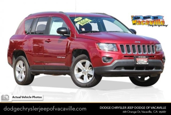 2016 Jeep Compass in Vacaville, CA