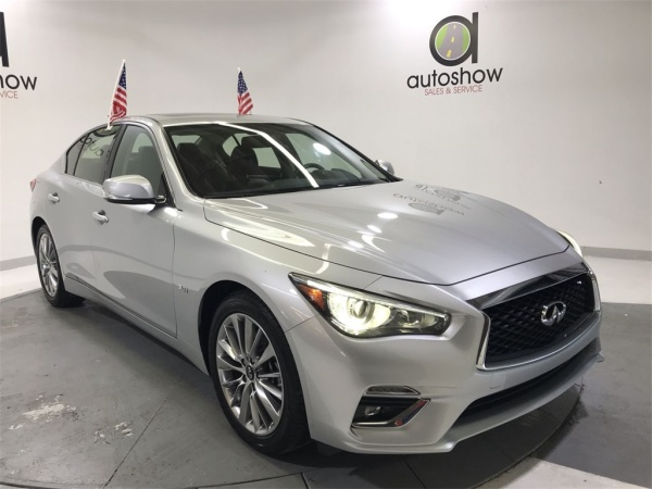 Infiniti Fort Lauderdale >> 2018 Infiniti Q50 3 0t Luxe Awd For Sale In Fort Lauderdale