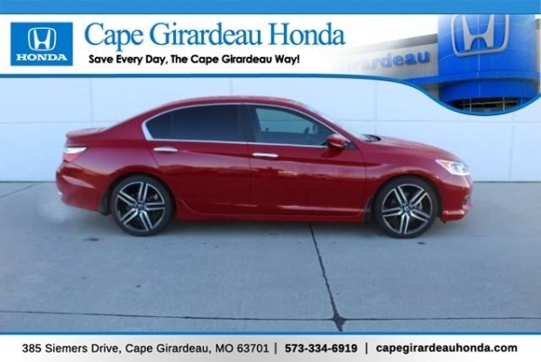 Cape Girardeau Honda >> 2017 Honda Accord Sport Special Edition Sedan Cvt For Sale