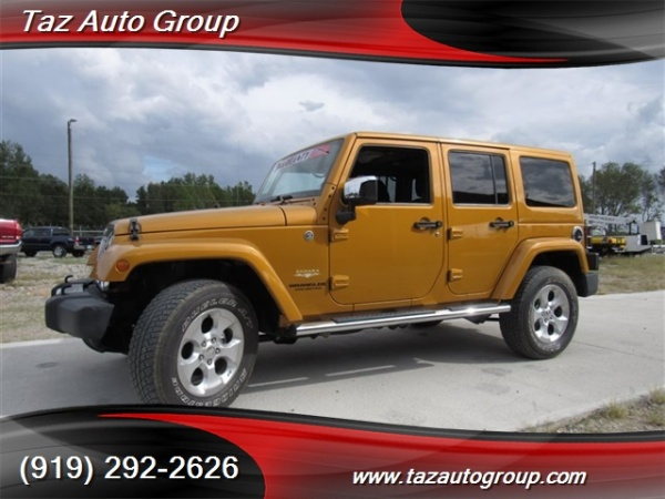 2014 Jeep Wrangler in Sanford, NC