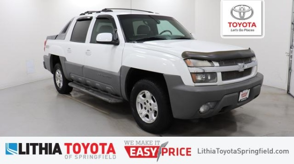 2002 Chevrolet Avalanche in Springfield, OR