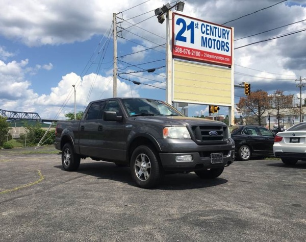 Fall River Ford >> 2004 Ford F 150 Fx4 Supercrew 5 5 Box 4wd For Sale In Fall River