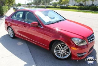 Used 2014 Mercedes Benz C Class C 250 Luxury Sedan RWD For Sale In