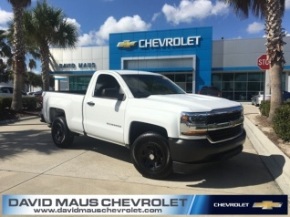 Used 2017 Chevrolet Silverado 1500 Work Truck Regular Cab Standard Box RWD  For Sale In Sanford