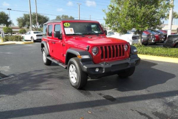 2018 Jeep Wrangler in Seminole, FL