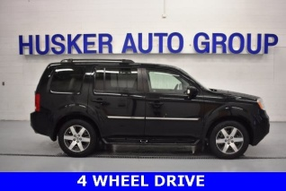 Used 2012 Honda Pilot Touring With Navigation/Rear Entertainment System 4WD  For Sale In Lincoln