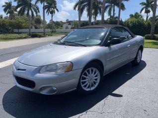 Used 2001 Chrysler Sebrings For Sale Truecar