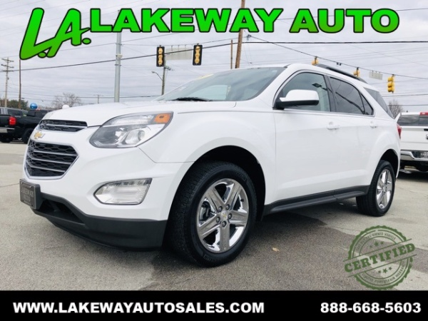 2016 Chevrolet Equinox Lt Fwd For Sale In Morristown Tn