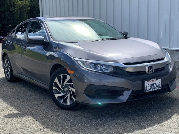 2016 Honda Civic EX Sedan CVT For Sale In Lompoc CA