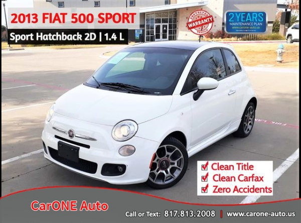 2013 FIAT 500 in Garland, TX