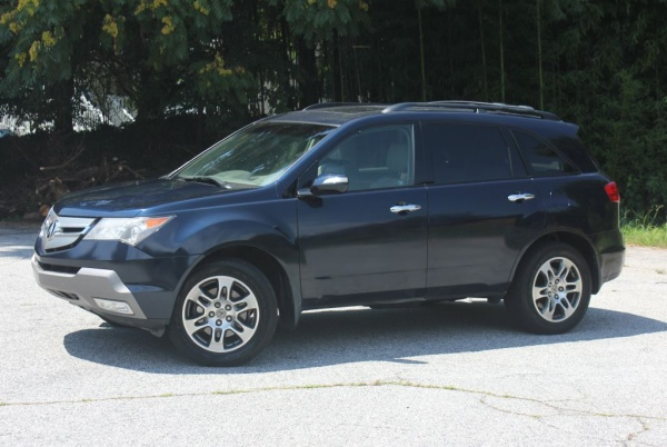 2009 acura mdx with technology package for sale in greenville sc truecar. Black Bedroom Furniture Sets. Home Design Ideas