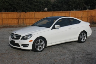 Used 2013 Mercedes Benz C Class C 250 Coupe RWD For Sale In Greenville