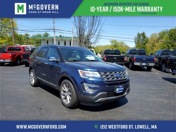 2017 Ford Explorer in Lowell, MA