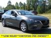 2016 Mazda Mazda3 i Sport 4-Door Automatic for Sale in Huntersville, NC