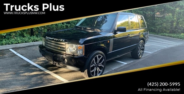 2005 Land Rover Range Rover in Seattle, WA