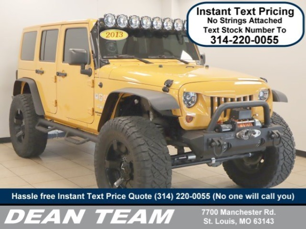 2013 Jeep Wrangler in St. Louis, MO