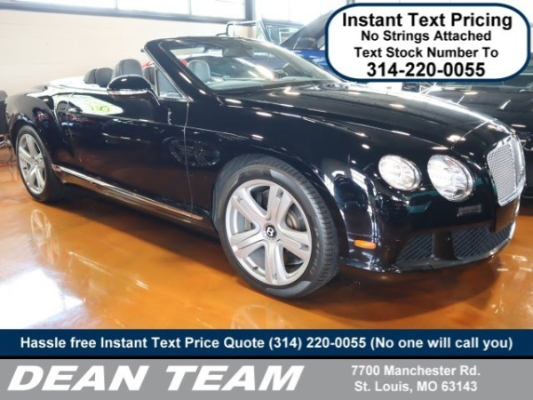 2013 Bentley Continental GT in St. Louis, MO