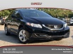 2015 Honda Civic LX Sedan CVT for Sale in Dallas, TX