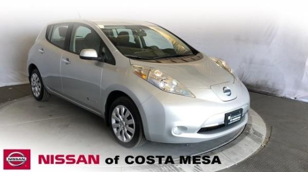 2016 Nissan LEAF in Costa Mesa, CA