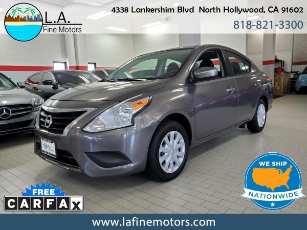 2017 Nissan Versa in North Hollywood, CA