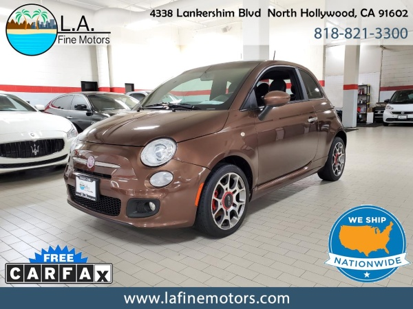 2012 FIAT 500 in North Hollywood, CA