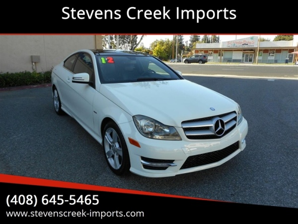 2012 Mercedes-Benz C-Class in San Jose, CA