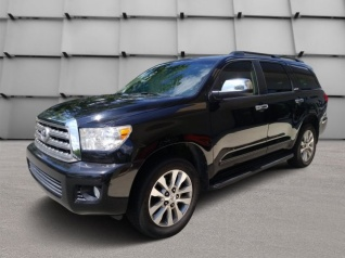 Delightful Used 2012 Toyota Sequoia Limited 5.7L RWD For Sale In Little Rock, AR