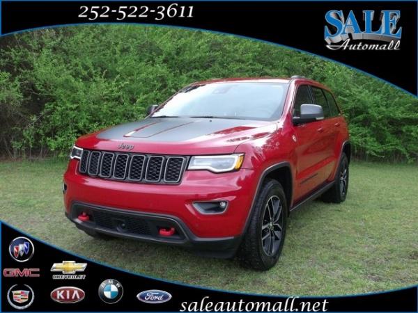 2017 Jeep Grand Cherokee Trailhawk 4wd For Sale In Kinston Nc Truecar