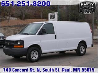 d396630608 2007 Chevrolet Express Cargo Van RWD 3500 135