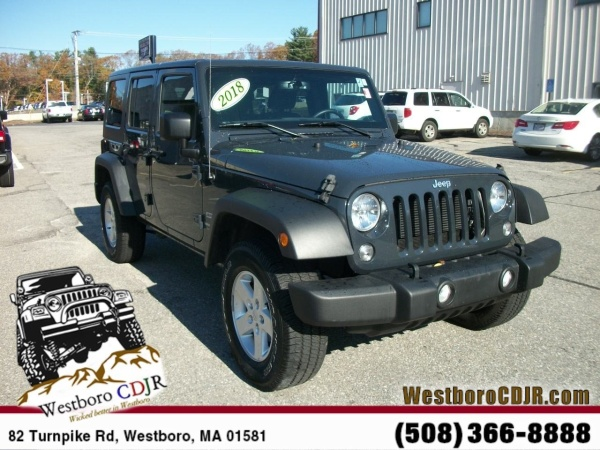 2018 Jeep Wrangler in Westborough, MA