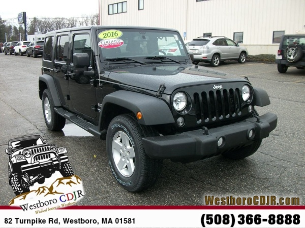 2016 Jeep Wrangler in Westborough, MA
